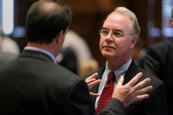 U.S. Rep. Tom Price, R-Roswell, helped develop the idea for the 'CRomnibus' spending bill. (AJC file)